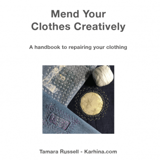 Mend Your Clothes Creatively Handbook