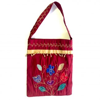 Upcycled evening bag - Autumn Garden
