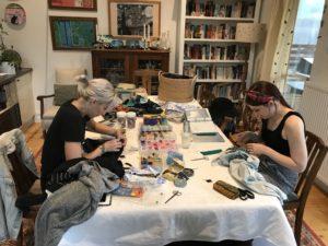 Visible mending workshop - Karhina.com